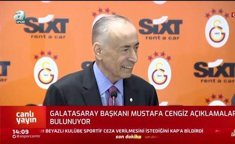 Mustafa Cengiz'den Fenerbahçe'ye gönderme