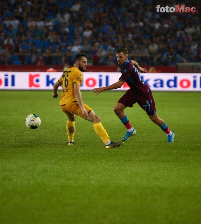 Trabzonspor - Yeni Malatyaspor maçından kareler...