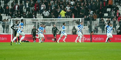 MAÇ SONUCU Beşiktaş 2-3 BB Erzurumspor