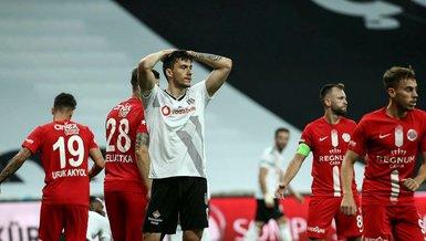 Beşiktaş 1-2 Antalyaspor   MAÇ SONUCU