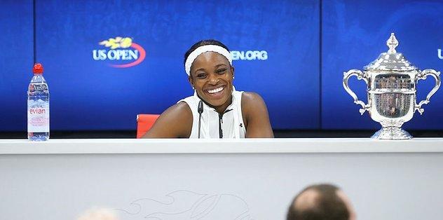 ABD Açık'ta Sloane Stephens şampiyon