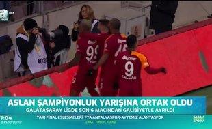 """Galatasaray zirve yarışında """"Ben de varım!"""" dedi"""