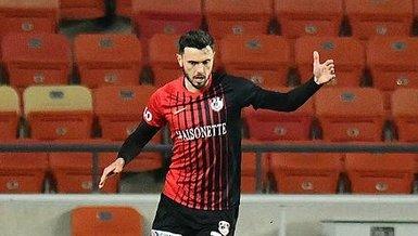 Son dakika spor haberi: Gaziantep FK'da Amedej Vetrih'in futbol hayatı tehlikede