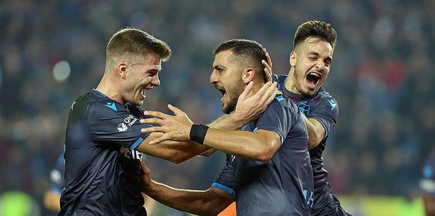 Trabzonspor 1-0 Alanyaspor | MAÇ SONUCU
