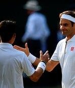 """Wimbledon'da Federer'in """"yüzü"""" gülüyor"""
