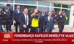 Fenerbahçe kafilesi Denizli'ye ulaştı