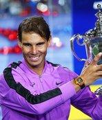 ABD Açık'ta zafer Nadal'ın!