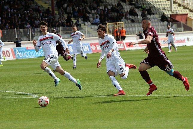 Elazığspor - Manisaspor maçından kareler (1 Nisan Pazar)