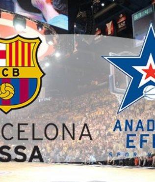 Barcelona Lassa Anadolu Efes maçı ne zaman saat kaçta hangi kanalda? Yayın bilgileri...