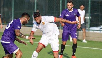 Göztepe hazırlık maçında Nazilli Belediyespor'u yendi