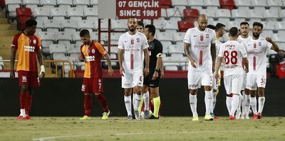 Antalyaspor 2-2 Galatasaray | MAÇ SONUCU