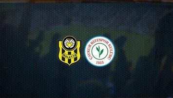 Yeni Malatyaspor - Çaykur Rizespor maçı sat kaçta ve hangi kanalda?
