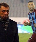 Ahmet Nur Çebir Burak Yılmaz'a tepkili