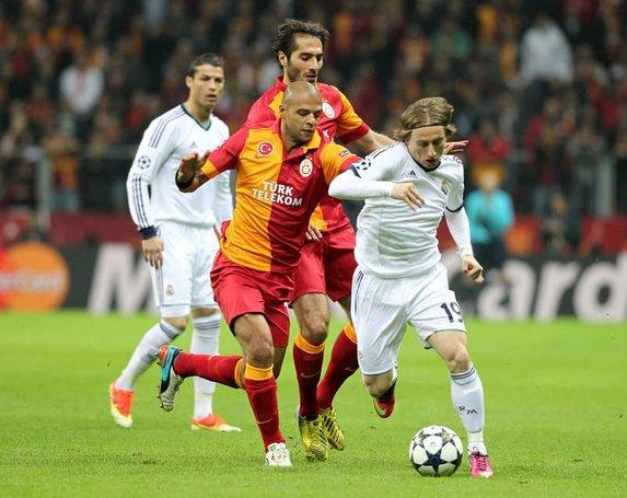 Galatasaray - Real Madrid maçından kareler