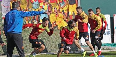 Göztepe, Yeni Malatyaspor maçına hazır