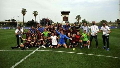 Turkcell Kadın Futbol Ligi'nde ilk finalist Fatih Vatanspor