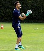 Harun Tekin, Fenerbahçe'deki ilk antrenmanını yaptı