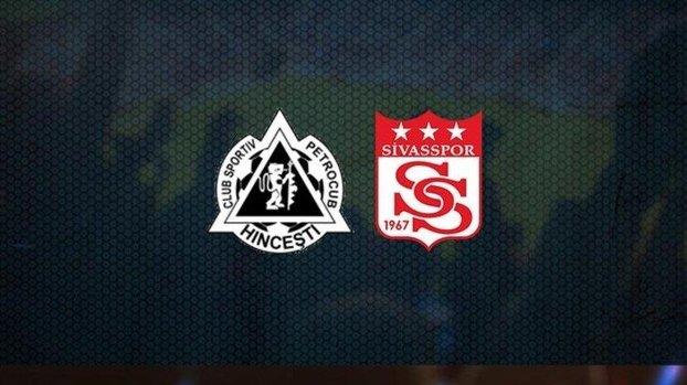 Petrocub - Sivasspor maçı CANLI