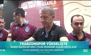 Trabzonspor yükselişte