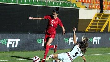 Kadın A Milli Takımı'mız Portekiz ile yenişemedi!