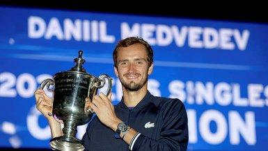 Son dakika spor haberi: ABD Açık'ı Djokovic'i yenen Daniil Medvedev kazandı