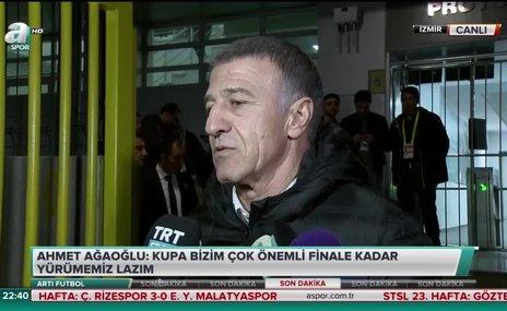 """Ahmet Ağaoğlu: """"Bu galibiyete ihtiyacımız vardı"""""""