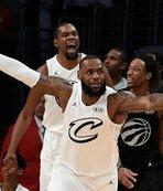 NBA All-Star maçını James'in takımı kazandı