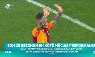 Son 30 sezonun en kötü Galatasaray'ı