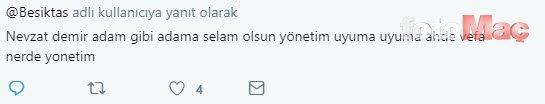 Beşiktaşlılar yönetime tepkili! Rezalet...