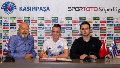 Kasımpaşa'da Tobias Heintz'in sözleşmesi feshedildi