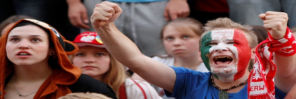 Euro 2012'den renkli kareler