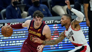 Son dakika spor haberi: Cleveland Cavaliers-Portland Trail Blazers: 105-141
