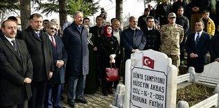 Akbaş'a anma töreni