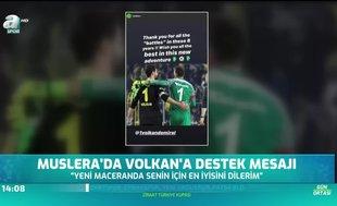 Muslera'dan Volkan Demirel'e destek mesajı