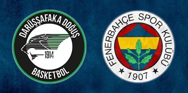 Fenerbahçe Darüşşafaka maçında kavga!