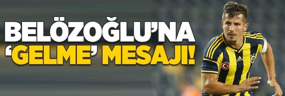 Emre Belözoğu'na Fenerbahçe'ye 'gelme' mesajı!