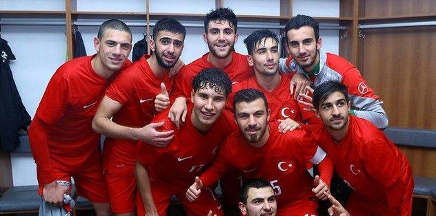 19 Yaş Altı Milli Takımı, Hırvatistan'ı 4-1 yendi