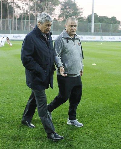 Lucescudan Galatasaraya ziyaret