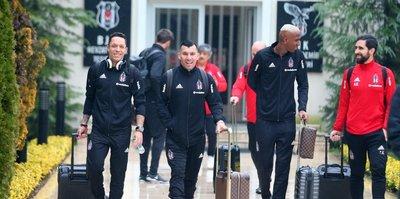 Beşiktaş, kamp için Antalya'ya gitti