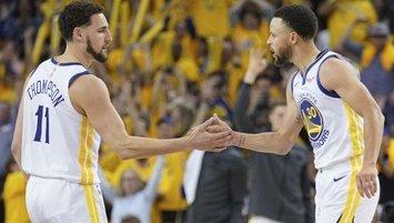 """Curry'den Klay Thompson sözleri! """"Geri döndüğünde..."""""""