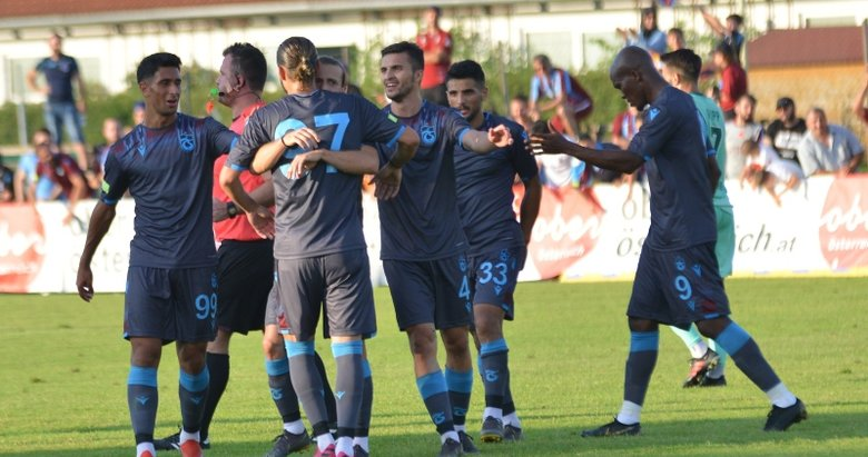 Hoffenheim - Trabzonspor maçından kareler...