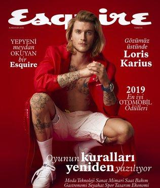 Esquire'in kapak yıldızı Karius!