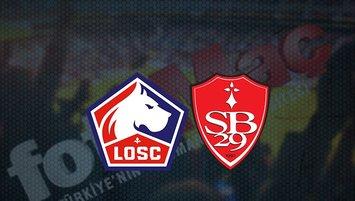 Lille - Brest maçı saat kaçta? Hangi kanalda?