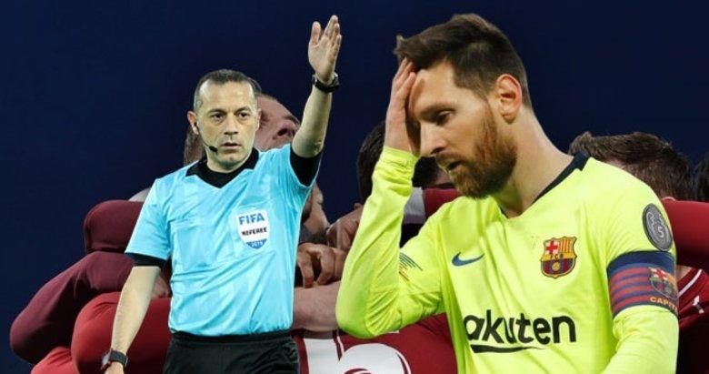Tarihi maç sonu öyle bir şey yaptı ki! Cüneyt Çakır...