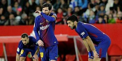 Messi, Barcelona'yı kurtardı