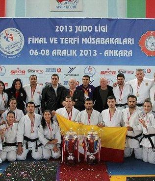 Judo Süper Ligi'nde Galatasaray erkek ve kadınlarda şampiyon