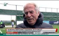 Mustafa Denizli'nin hedefi Avrupa