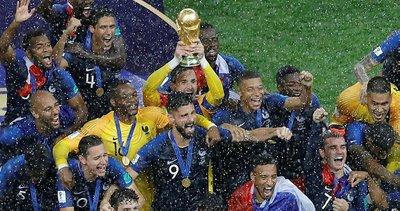 Dünya Kupası'nın altın 11'i belli oldu