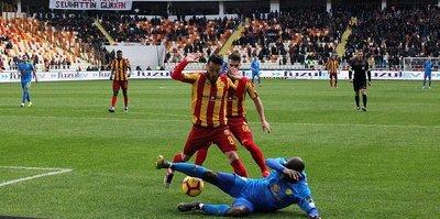 Yeni Malatyaspor ligde 7 maç aradan sonra kazandı