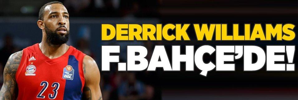 Derrick Williams Fenerbahçe'de!